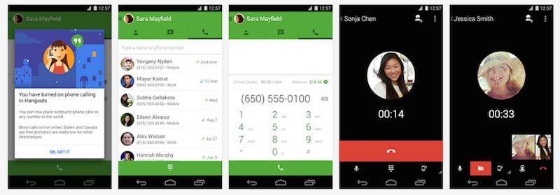 Hangouts App Free Calling