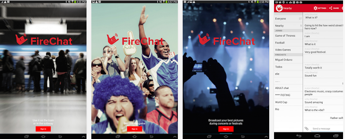 FireChat Android App