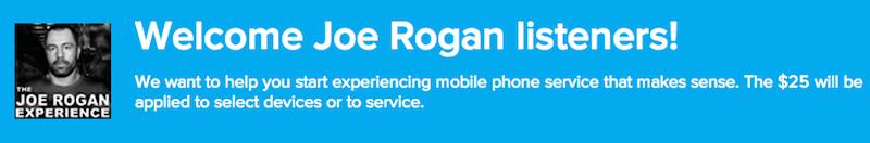 Joe Rogan Ting discount